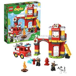 Lego Duplo 10903 Town Fire Station with Light and Sound, Fire Engine and 2 Firemen Figures £31.99 Amazon