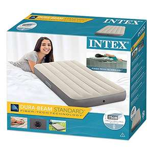 Intex Dura-Beam Deluxe Height Single Size Airbed Inflatable Mattress £18 (Prime) £22.49 (non Prime) at Amazon