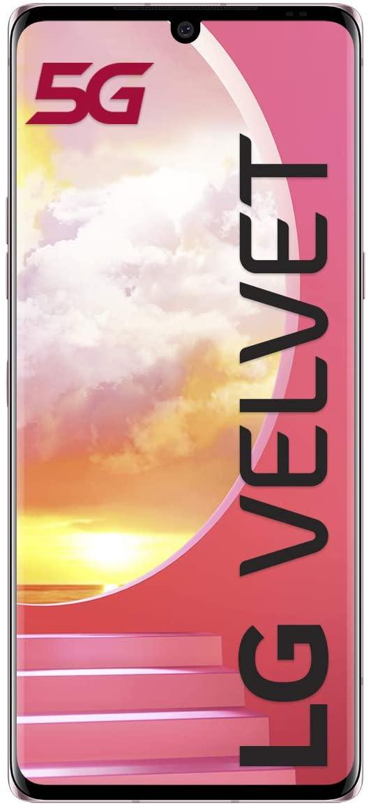 "LG Velvet 6GB/128GB 5G smartphone, colour ""Illusion Sunset"" £462.76 from Amazon Italy"