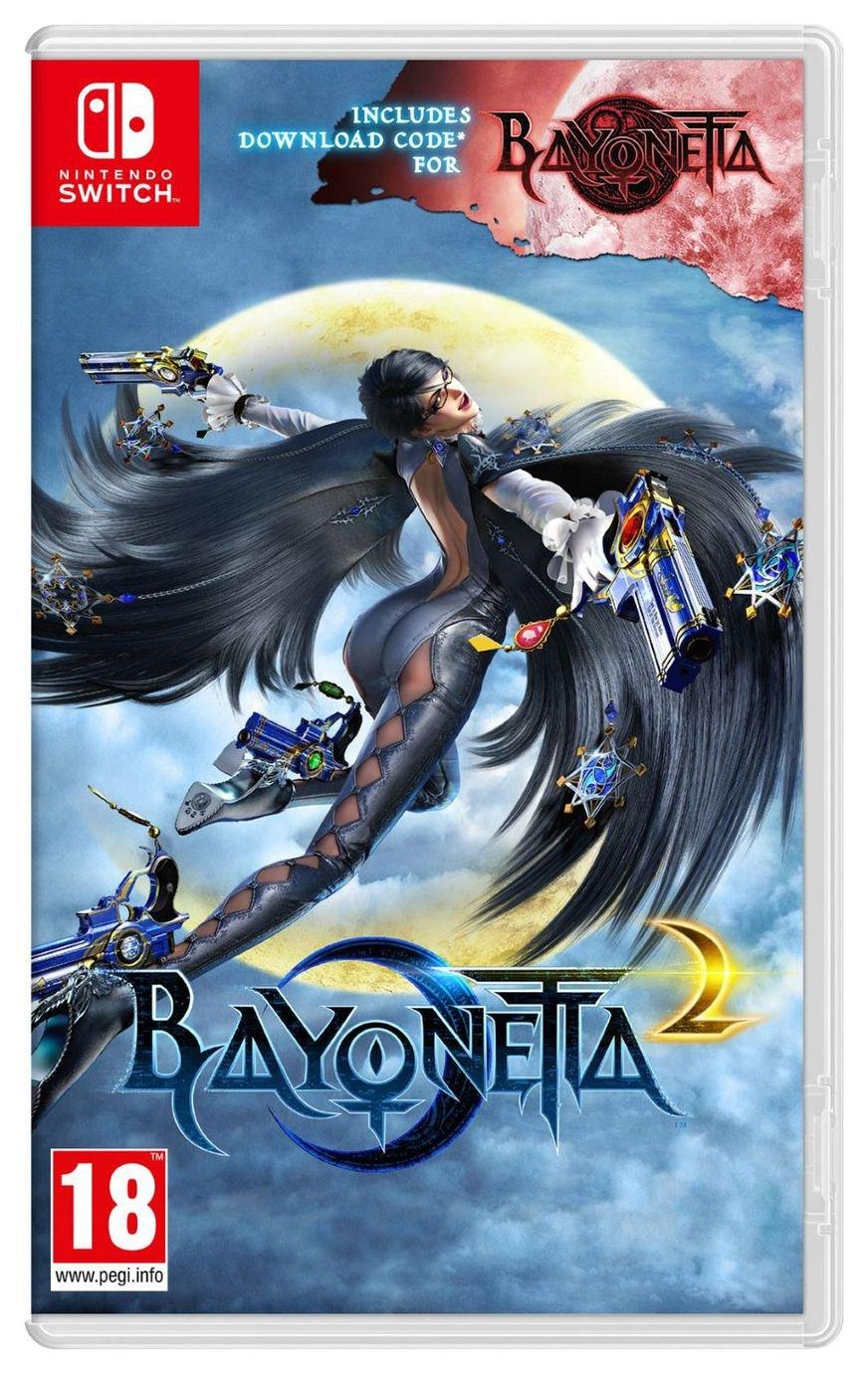 Bayonetta 2 with Bayonetta DDC Nintendo Switch Game £29.99 Argos (limited stock availability)
