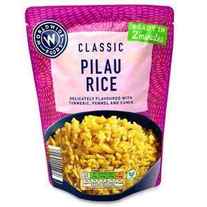 Worldwide foods Classic pilau / egg fried microwave rice 250g - £0.37 at Aldi