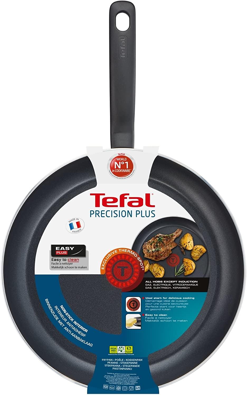 Tefal Precision Plus Frypan, 32cm-Black, Aluminium, 32cm - £12.50 (Prime) / £16.99 (Non Prime) delivered @ Amazon