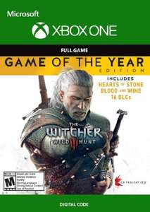 [Xbox One] The Witcher 3 Wild Hunt - Game of the Year Edition - £9.99 @ CDKeys