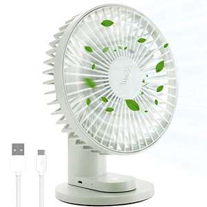 Entil 2 in 1 Mini Clip-on Cooling USB Battery Fan (90 Deg Oscillating /Low Noise) £9.99 Prime / £14.48 Non Prime Sold by Twakie EU and FBA