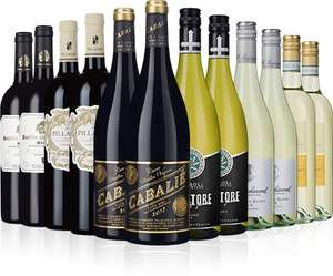 12 Bottles of Wine, 2 Crystal Tumblers - £65 and Free Delivery @ Laithwaites