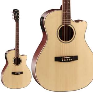 Cort Grand Regal Series GA-MEDX Electro Acoustic Guitar - Open Pore Natural - £149 Delivered @ Kenny's Music