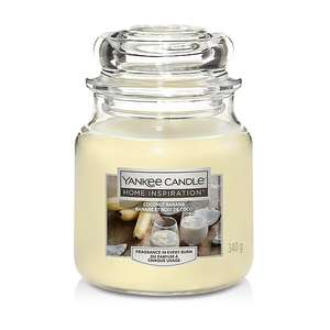 Yankee Candle Home Inspiration Medium Jar Coconut Banana - £6 + free c+c @Asda