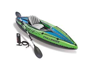 Intex Challenger Kayak, Man Inflatable Canoe with Aluminum Oars and Hand Pump - £73.16 delivered at Amazon
