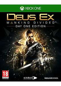 Deus Ex: Mankind Divided - Day One Edition [Xbox One] - £3.79 Delivered @ Base.com