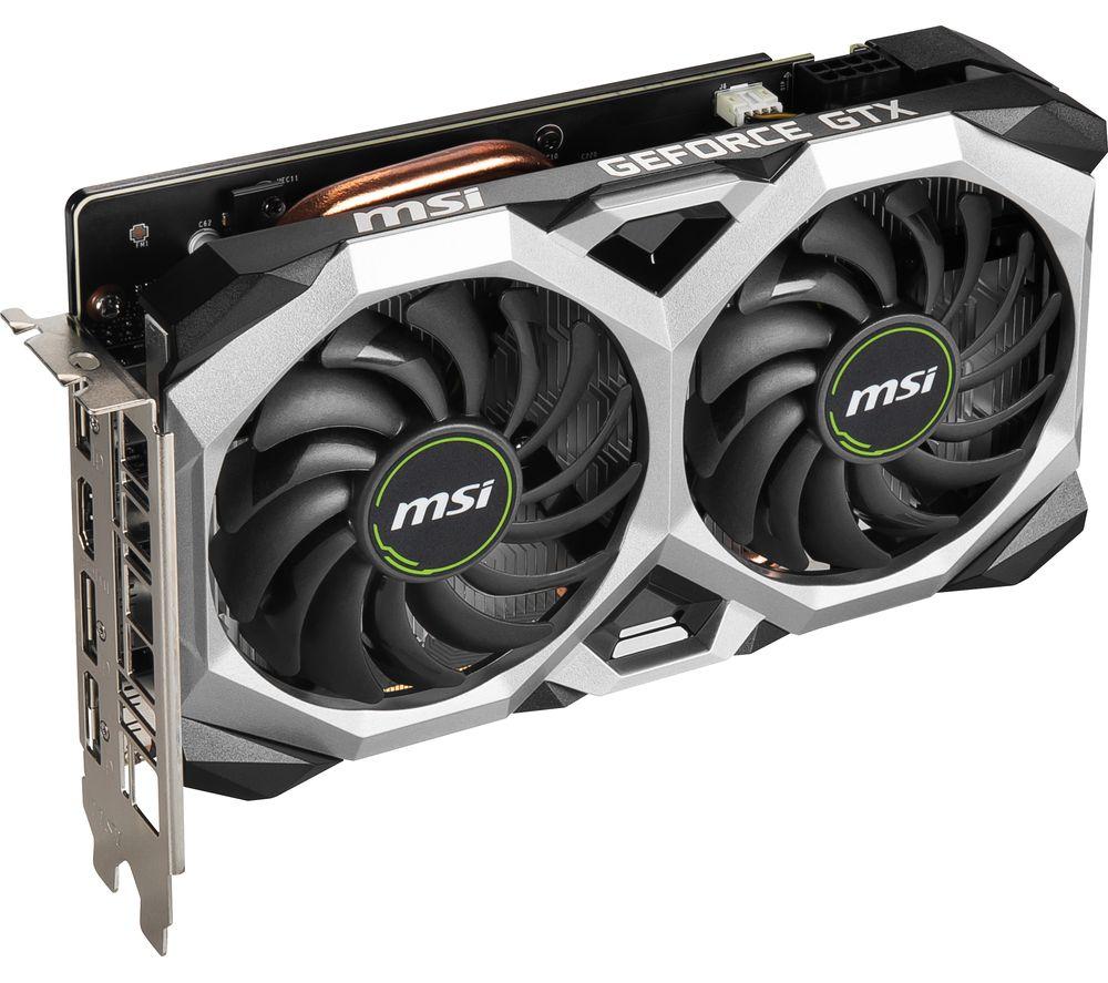 MSI GeForce GTX 1660 6 GB SUPER VENTUS Graphics Card £208 @ Currys