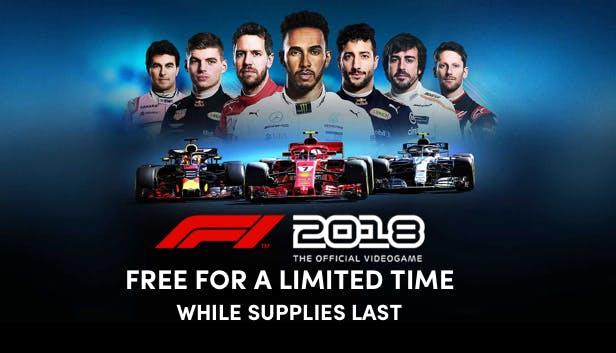 F1 2018 (PC) Free on Humble Bumble