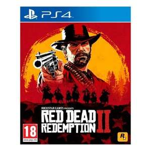 Red Dead Redemption 2 [PS4] (Pre-Owned) for £15.20 Delivered With Code @ MusicMagpie