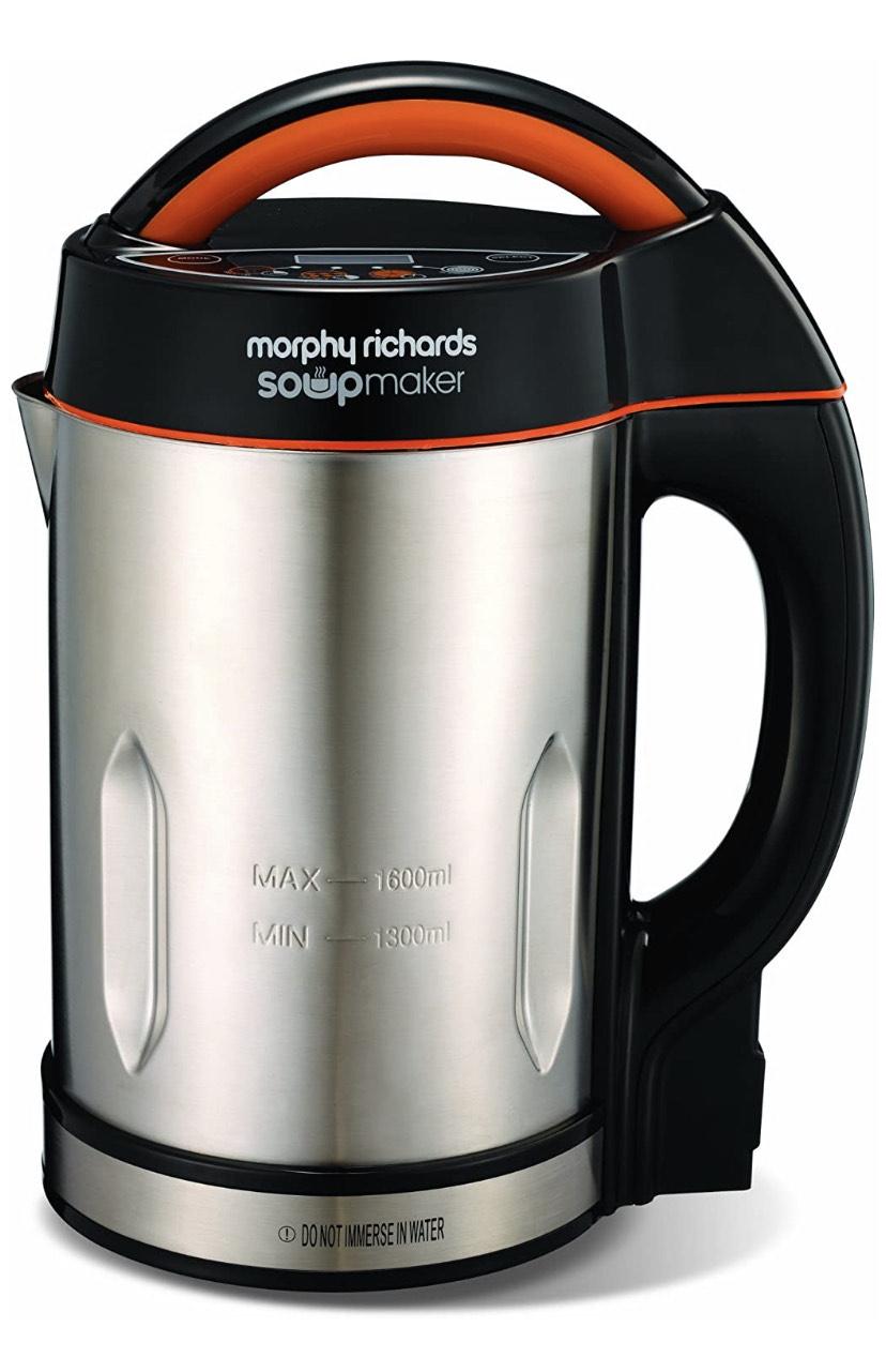 Morphy Richards Soupmaker Stainless Steel Soup Maker - £42 @ Amazon