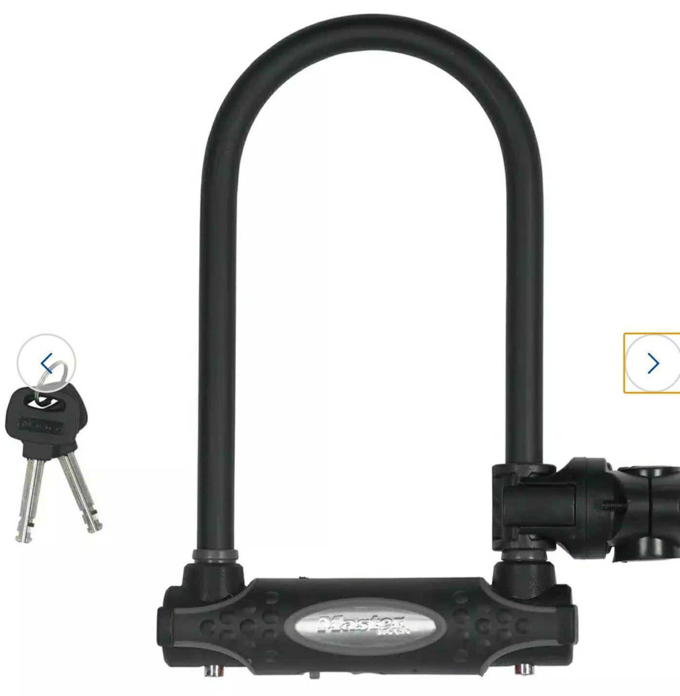 Master Lock Ultra Hardened D Bike Lock - £16.99 @ Argos (Free C&C)