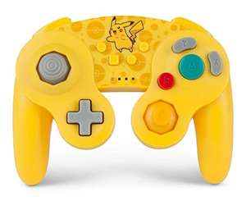 PowerA Pokemon Wireless Officially Licensed GameCube Style Controller/Super Smash Bros. Pikachu - £22.99 @ Amazon