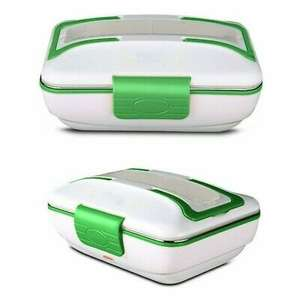 Electric Heating Lunch Box - Portable Bento Meal Heater Food Warmer GREEN - £4.54 delivered with 30% discount @ barnardos_charity / eBay