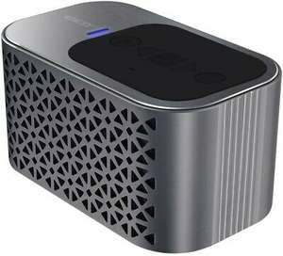 LDEX - Silver Aluminium Portable Bluetooth Speaker - Play 500 Songs on 1 Charge - £4.54 with 30% discount @ barnardos_charity / eBay