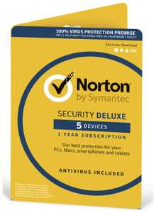 Norton Antivirus Deluxe - 5 Devices - £17.49 @ Argos