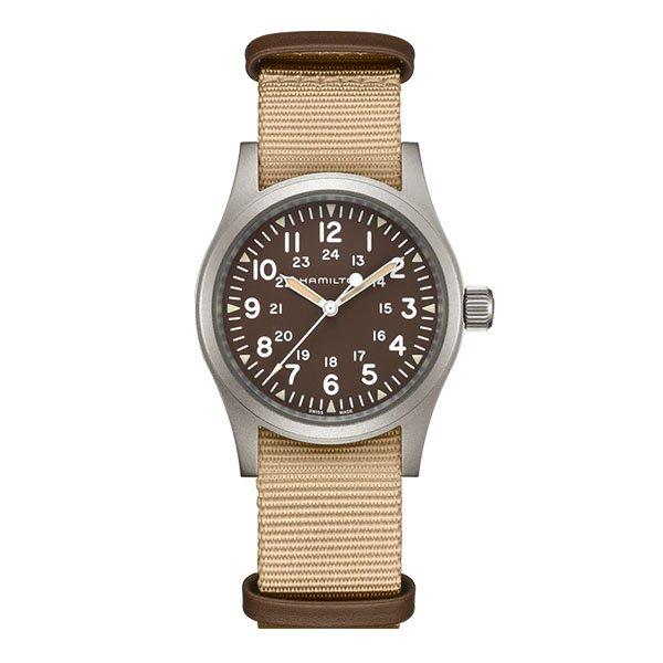 Hamilton field Mechanical watch £255.20 @ AMJ watches using code