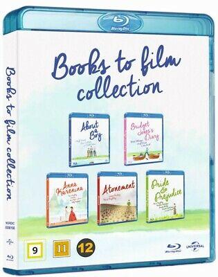 About A Boy/Bridget Jones Diary/Anna Karenina/Atonement/Pride & Prejudice Blu-Ray Box Set £5.93 delivered @ rarewaves-outlet ebay