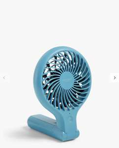 John Lewis & Partners Handheld and Foldable Desk Fan - £9 instore @ John Lewis & Partners (£3.50 delivery / £2 C&C)