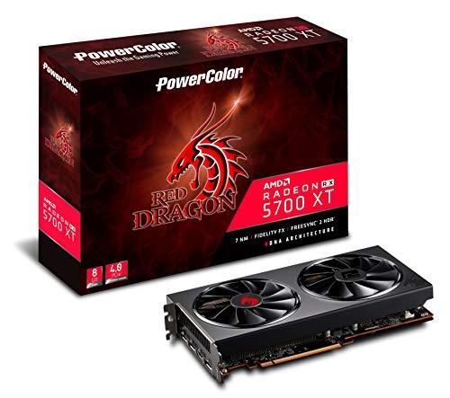 Powercolor AMD Radeon RX 5700 XT Red Dragon 8GB GDDR6 HDMI/3xDP Video Card AXRX 5700XT 8GBD6-3DHR/OC £359.99 delivered at Amazon