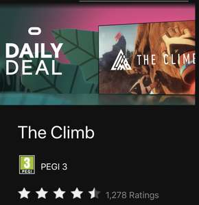 The Climb - Oculus Quest £15.99