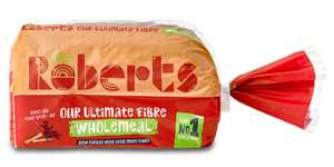 Roberts ultimate fibre wholemeal bread 79p @ Home Bargains Poulton-le-Fylde