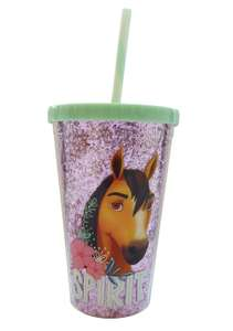 Spirit Glitter Plastic Drink 450ml BPA-free Cup £1.75 free click and collect at Argos Trowbridge