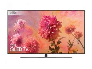 "Samsung QE55Q9FN (2018) QLED HDR 2000 4K Ultra HD Smart TV, 55"" with TVPlus/Freesat HD & 360 Design £919.99 @ District Electricals"
