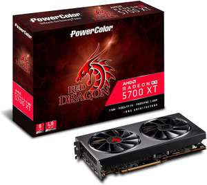 PowerColor Radeon RX 5700 XT 8GB Red Dragon Graphics Card, £346.90 at CCL/ebay with code (Free games bonus)