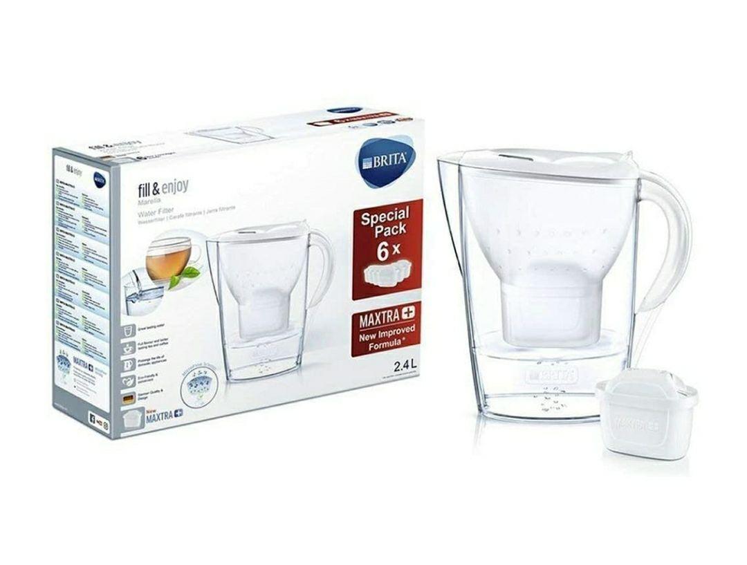 BRITA Marella Water Filter Half-Year Pack with 6 BRITA MAXTRA+ Cartridges - £27.62 @ Amazon