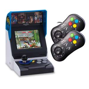 NEOGEO Mini Console Bundle (+ 2 x NEOGEO Black Controllers + 40 Classic NEOGEO Games) £84.99 @ Accessory Outlet