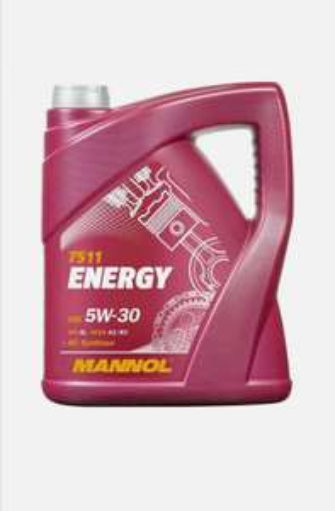5L Mannol ENERGY 5w30 Fully Synthetic Engine Oil SL/CF ACEA A3/B3 WSS-M2C913-B £13.99 @ lubriagecarpartsaccessories eBay