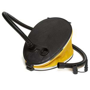 EUROHIKE 3L Bellows Foot Pump £2 free delivery with discount card, Go Outdoors