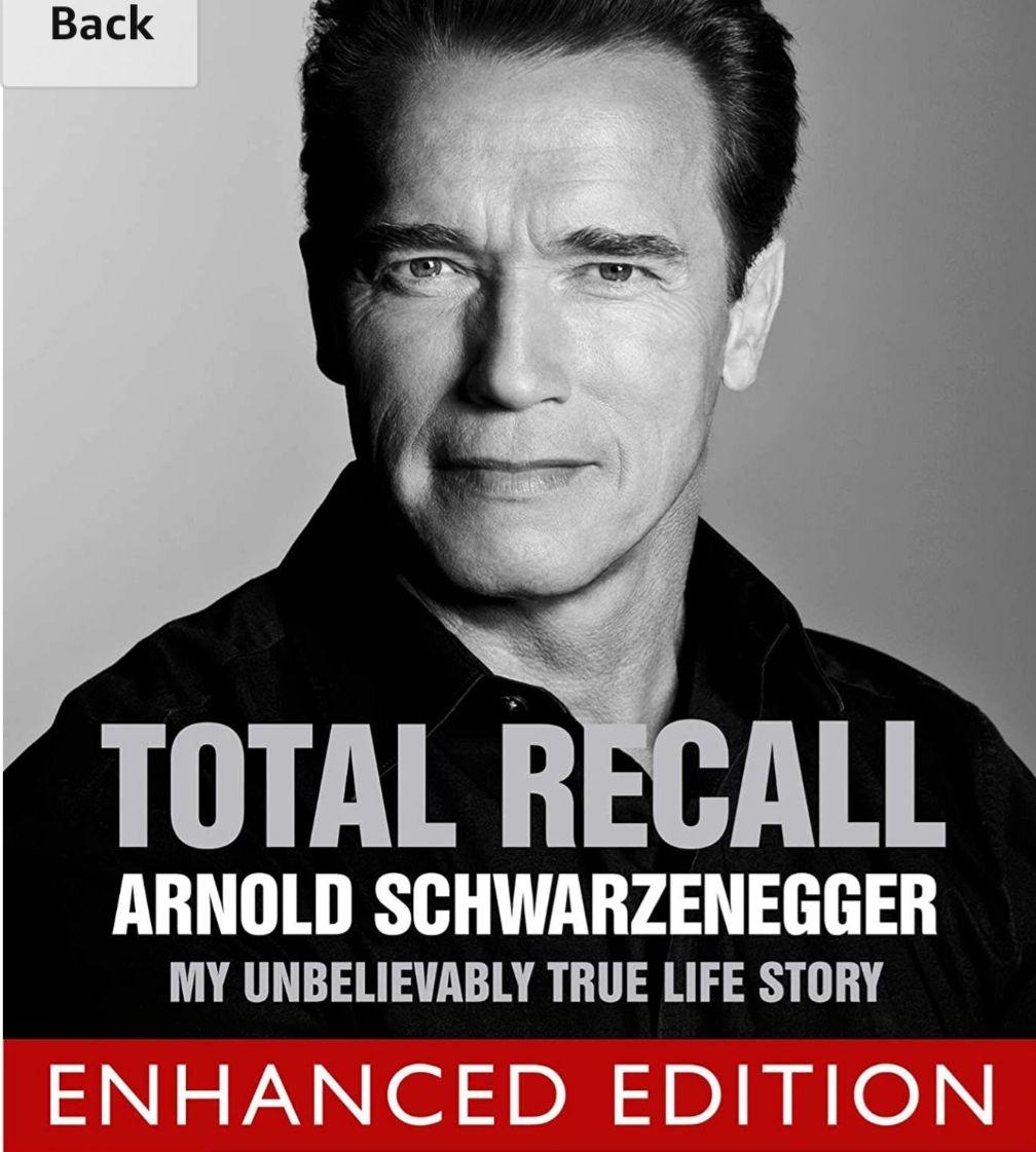 Total Recall Enhanced Edition (Arnold Schwarzenegger Autobiography) Kindle with Audio / Video £5.99 @ Amazon