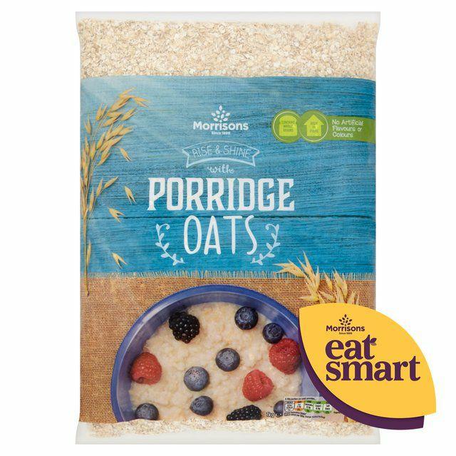 Morrisons Porridge Oats1kg - £0.85 @ Morrisons
