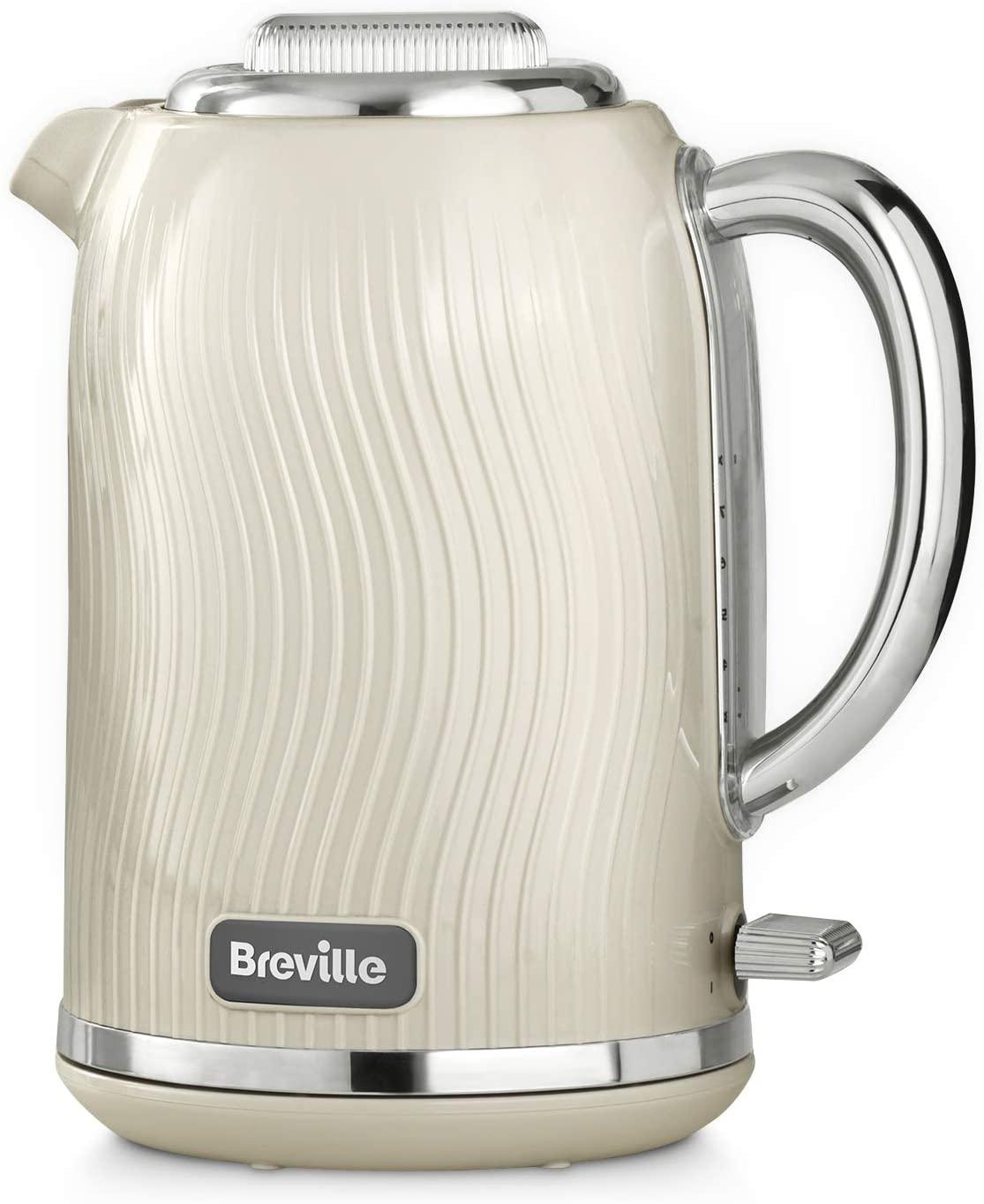 Breville VKT091 Flow Electric Kettle, 3 KW Fast Boil, Mushroom Cream, 1.7 Litre - £24.99 delivered @ Amazon