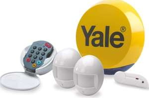 Yale YES-ALARMKIT Essentials Alarm Kit, Battery Powered, up to 20 Add-on Accessories, No monitoring fee - £73.99 @ Amazon