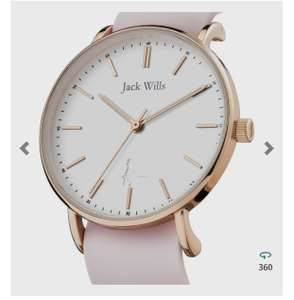 Jack Wills Ladies Watch JW018WHPK £24.75 with code at Watch Shop