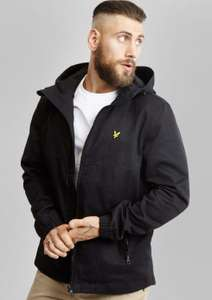 Lyle & Scott Cotton Twill Jacket Black - £55 delivered @ Terraces Menswear