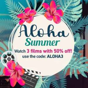 Aloha Summer: Rent or Buy 3 Films at 50% Off with code @ Chili