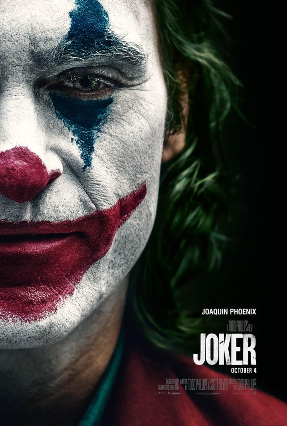Joker (UHD) for £4.99 on Rakuten TV