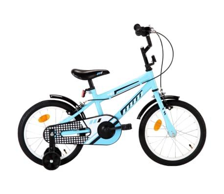 vidaXL steel kids bike with 16 inch wheels in blue for £82.99 delivered @ VidaXL