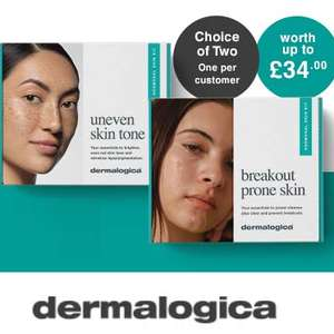 Up to 40% Off selected dermalogica + Free dermalogica Hormonal Skin Kit (Worth Up To £34) When You Spend £70 @ Beauty Flash
