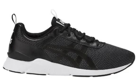 Asics Gel Lyte Runner Black Trainers Mens Size 3.5, 4,5, 5 £17.99 / Size 6, 6.5, 7 £22.99 delivered @ pepa_bargains ebay
