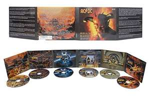AC/DC Hell's Radio the Legendary Broadcasts 1974-1979 (Box 6 CD) £9.99 + £1.99 Non Prime @ Amazon