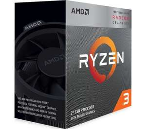AMD Ryzen 3 3100 Processor, £90.99 at Currys PC World with voucher code