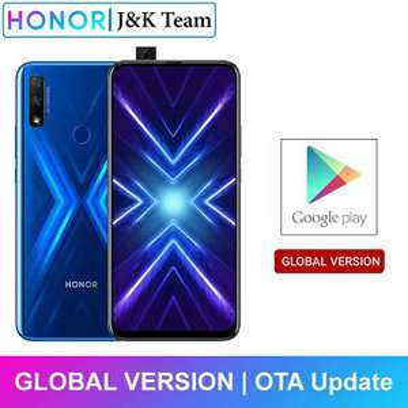 Honor 9X 4GB 128GB Smartphone Global Version 48MP dual caemra Mobile Phone 4000mAh Battery 6.59inch £121.03 AliExpress JKTEAM Store