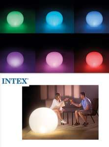 Intex LED colour changing Floating Globe Light 89cm X 79cm Now £16.49 Free delivery @ Eurocarparts